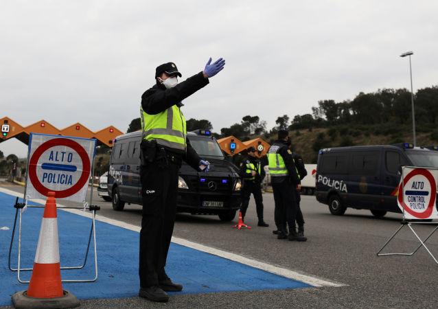 西班牙邊防警察