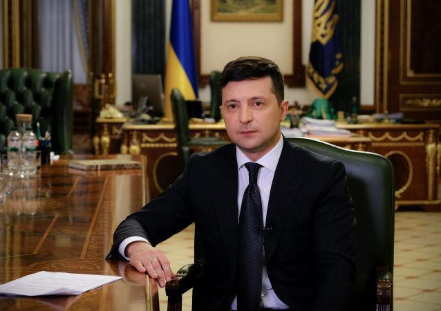 烏克蘭總統弗拉基米爾·澤連斯基