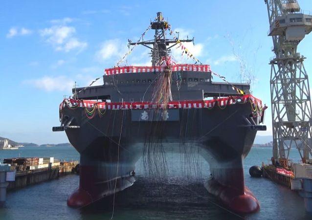 配備SURTASS系統的日本新艦將監視中國潛艇