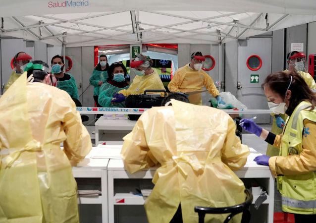 西班牙新冠肺炎累計死亡病例超過中國