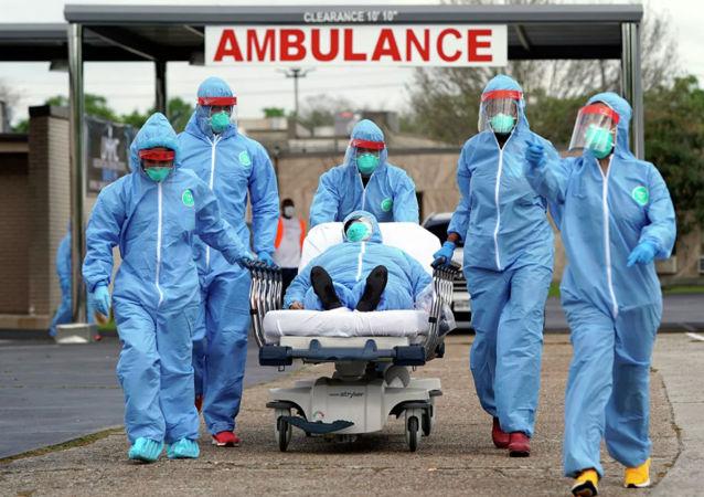 美國霍普金斯大學:全球累計新冠肺炎確診病例超過550萬例