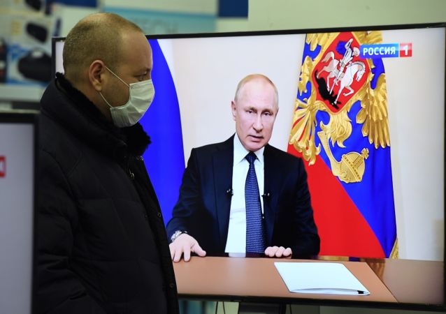 普京在新冠疫情背景下暫無向國民發表講話的計劃