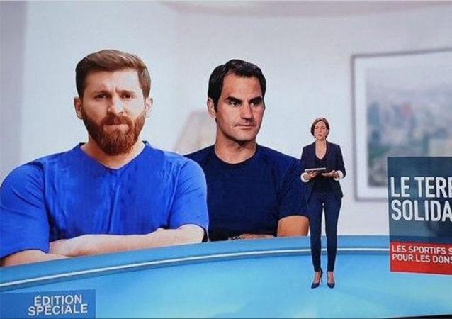 真假梅西:法國電視台傻傻分不清