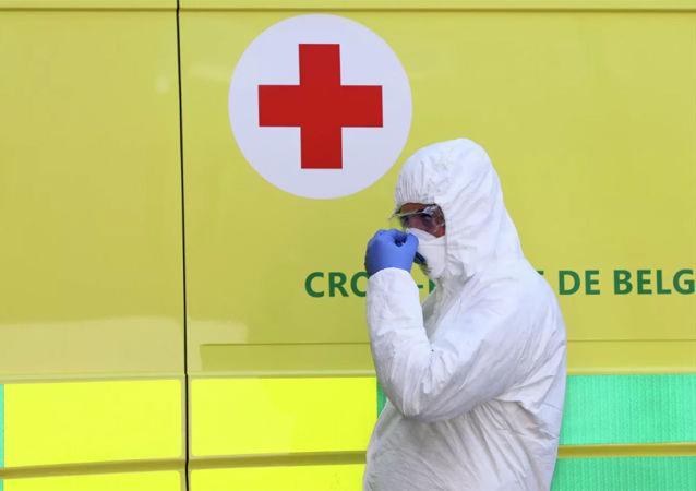 比利時新冠病毒感染死亡病例超800例 累計確診近1.4萬例