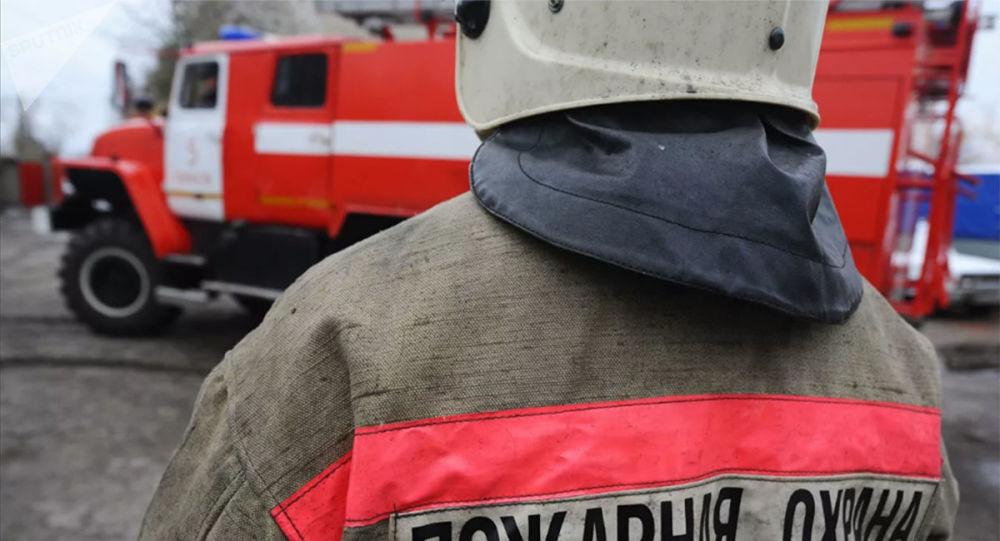 俄中邊境大烏蘇里島設立野火消防站