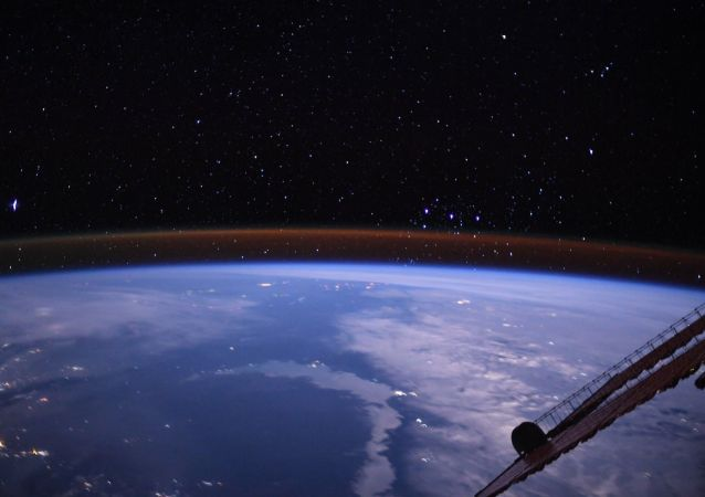 地球,國際空間站
