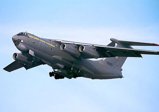 烏克蘭武裝力量伊爾-76MD運輸機