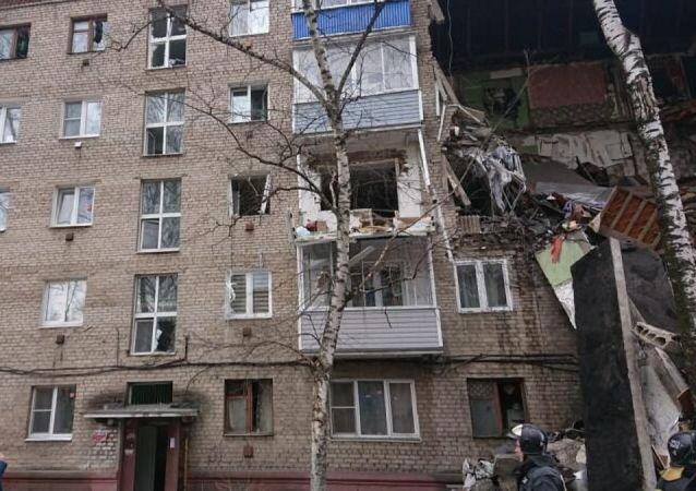 莫斯科州奧列霍沃-祖耶沃市居民樓天然氣爆炸事故救援工作已結束