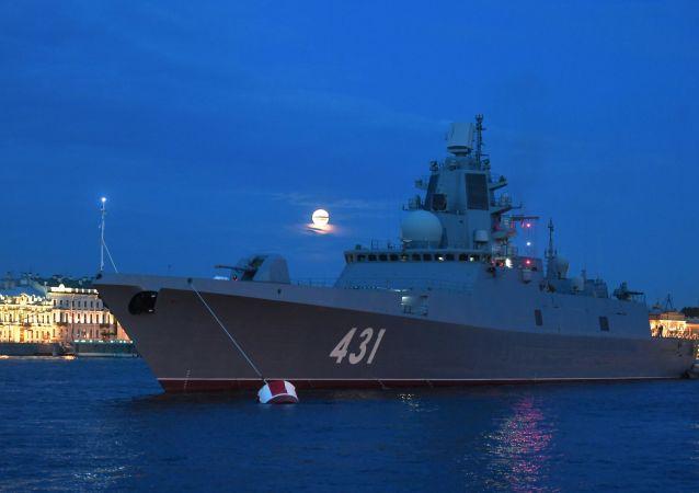 「卡薩托諾夫海軍元帥」號護衛艦
