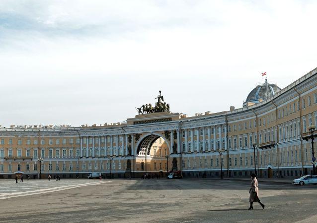 聖彼得堡冬宮廣場