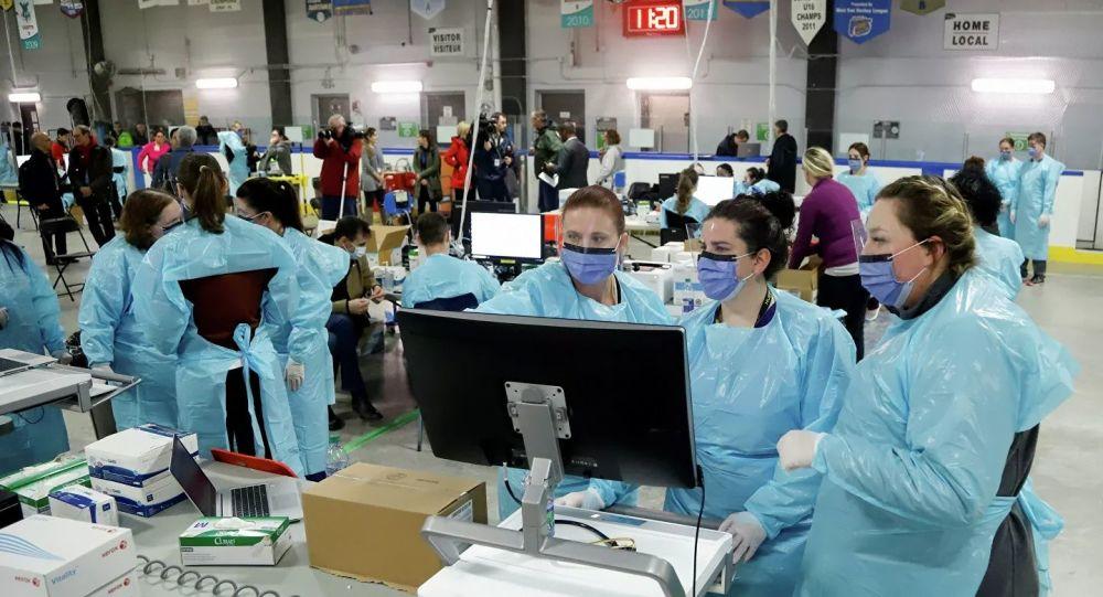 加拿大累計確診新冠病毒感染病例升至19274例