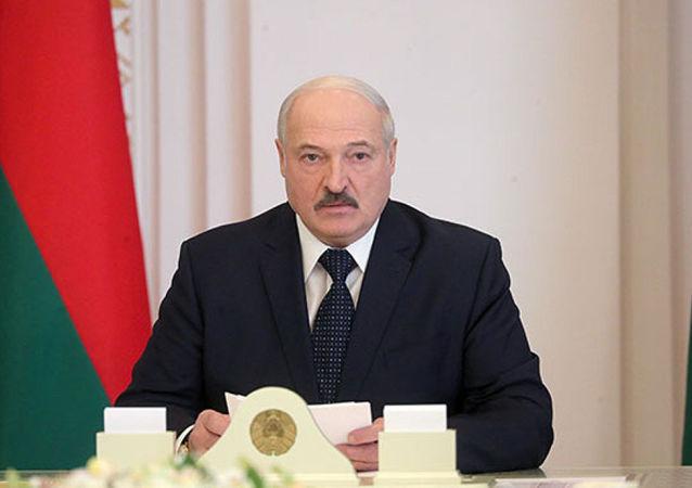 白俄羅斯總統亞歷山大∙盧卡申科