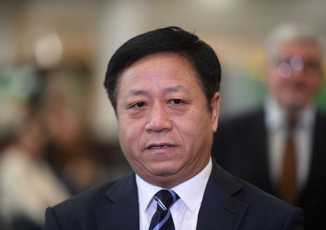 中國駐俄羅斯特命全權大使張漢暉