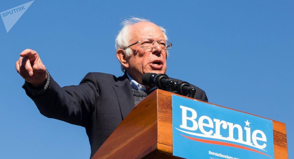 美國參議員伯尼·桑德斯宣佈暫停民主黨總統競選活動