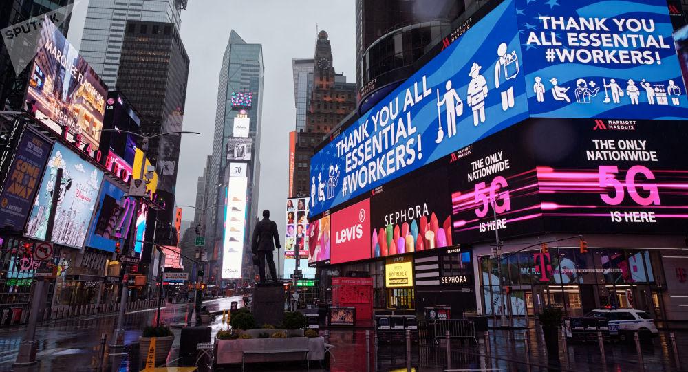 美國紐約州新冠病毒單日死亡病例達799人