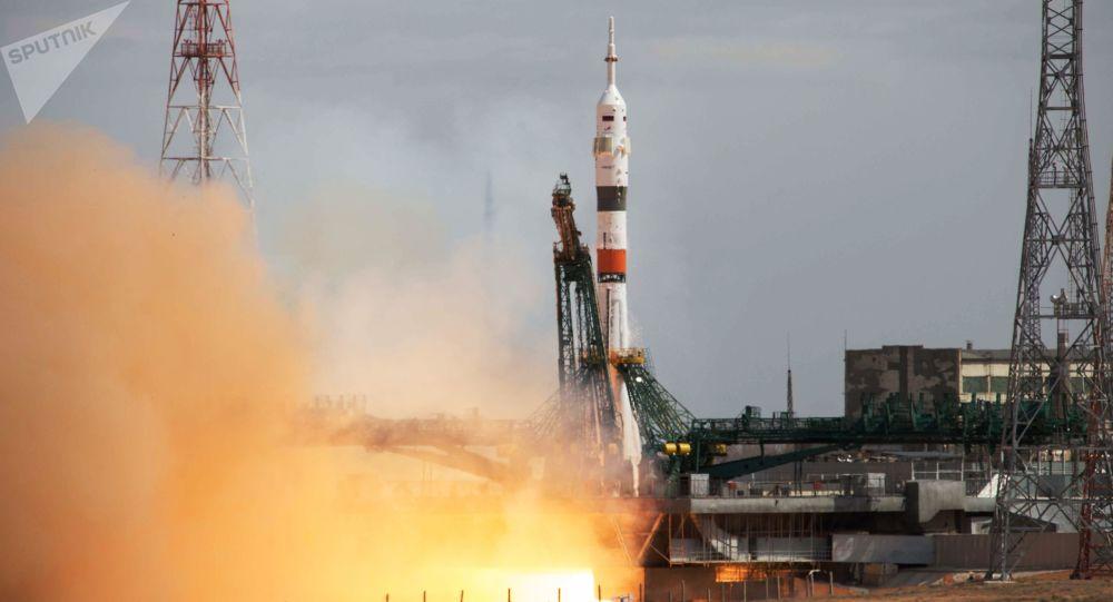 搭載宇航員的聯盟MS-16飛船已與國際空間站對接