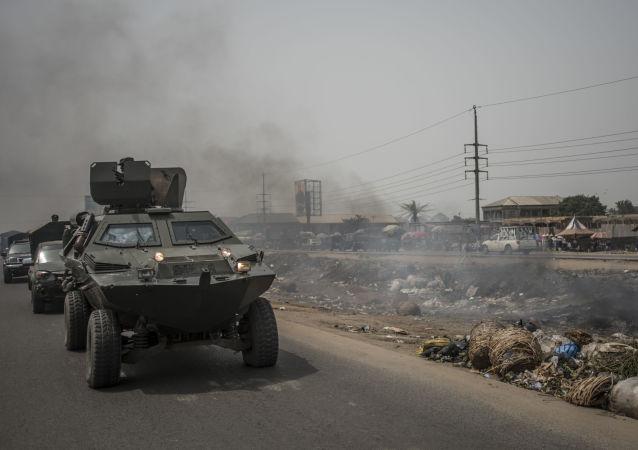 中國武器助尼日利亞反恐