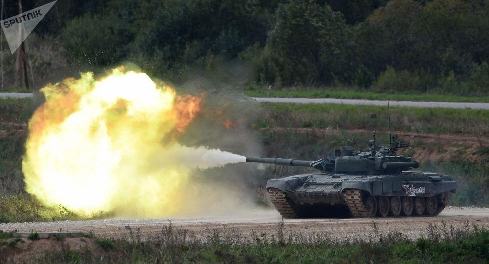 俄T-90主戰坦克