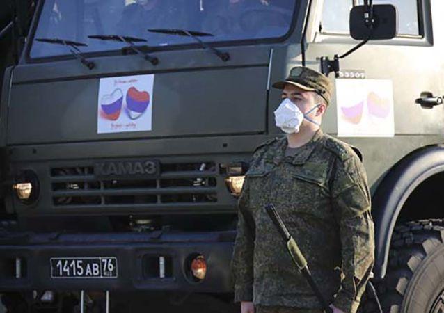 塞爾維亞國防部:塞不會忘記俄軍事專家協助對抗COVID-19