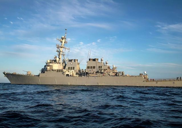 美方罔顧國內民眾生命安全派軍艦到南海挑釁滋事 充分暴露其虛偽本質