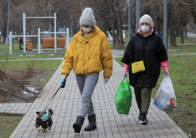 莫斯科,新冠疫情