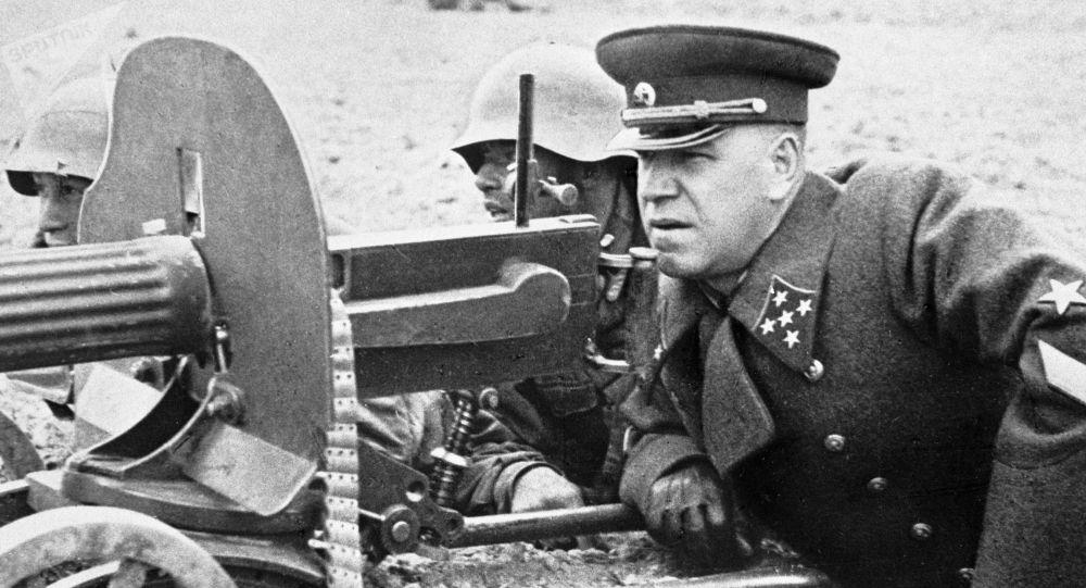 蘇聯統帥朱可夫
