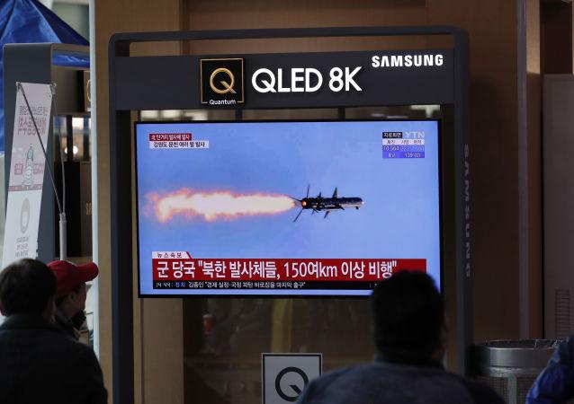 日本政府指出朝鮮導彈飛行距離