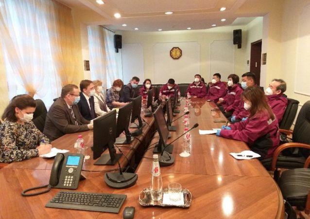 中國赴俄抗疫醫療專家組表示已結束在俄工作