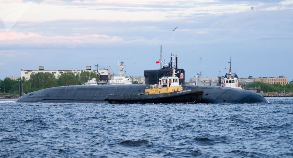 「弗拉基米爾王子」 號核潛艇