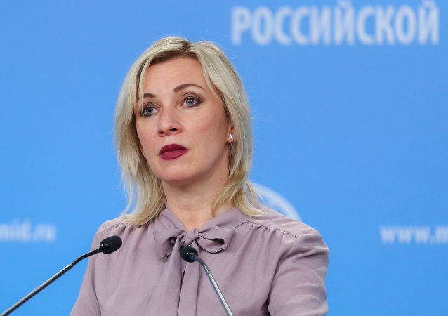 俄外交部發言人扎哈羅娃