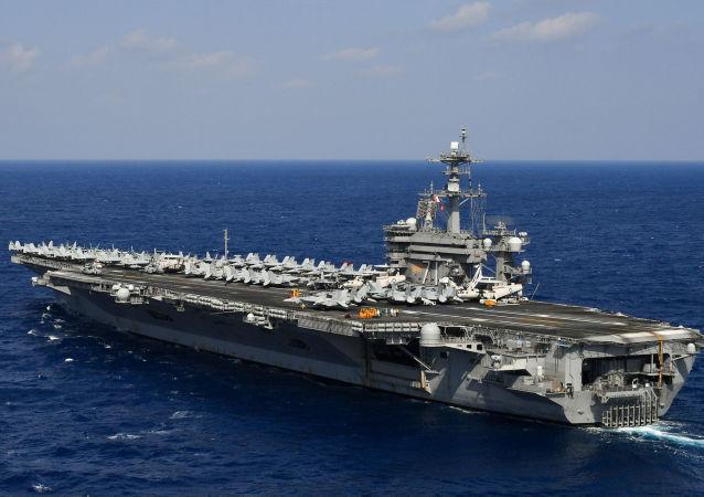 美國「西奧多∙羅斯福」號航空母艦