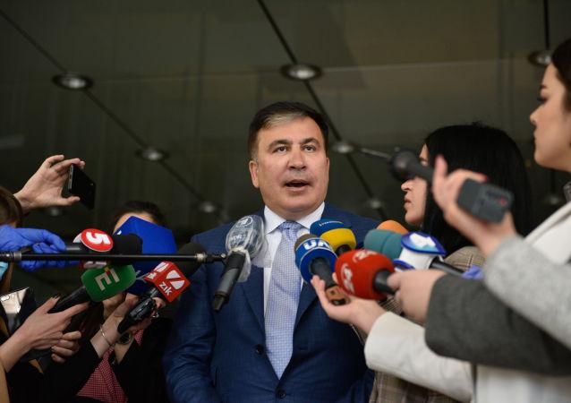 薩卡什維利談自己在烏克蘭新職位的規劃