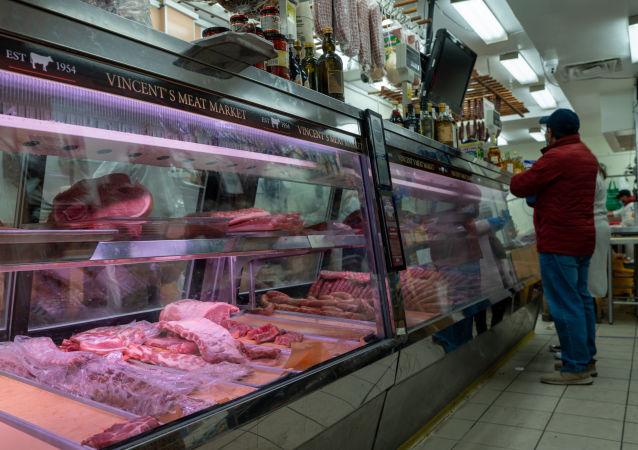 美國的肉類成為富人的食品