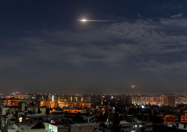 敘防空部隊擊退以色列對大馬士革的攻擊(資料圖片)