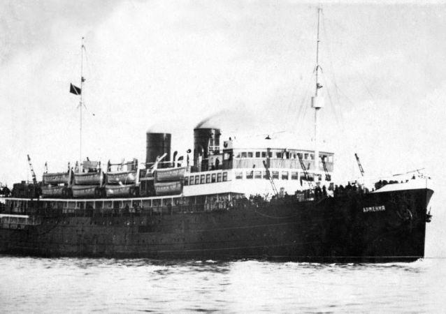 亞美尼亞號沈船在黑海找到 遇難人數超泰坦尼克號