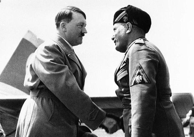 希特勒與墨索里尼