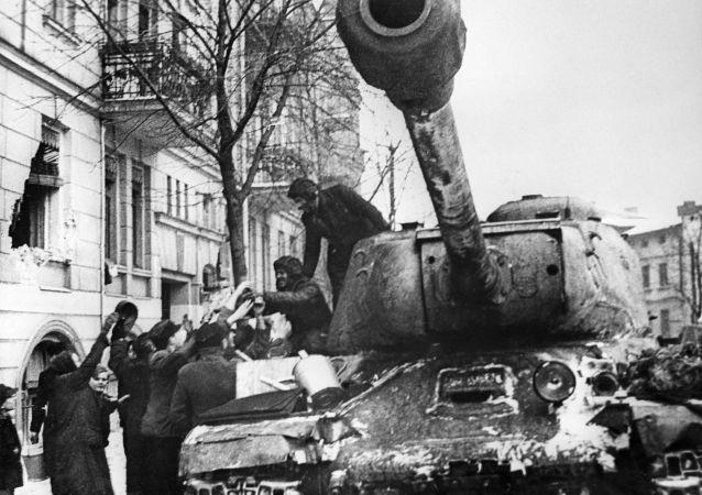 偉大衛國戰爭時期的傳奇蘇聯坦克