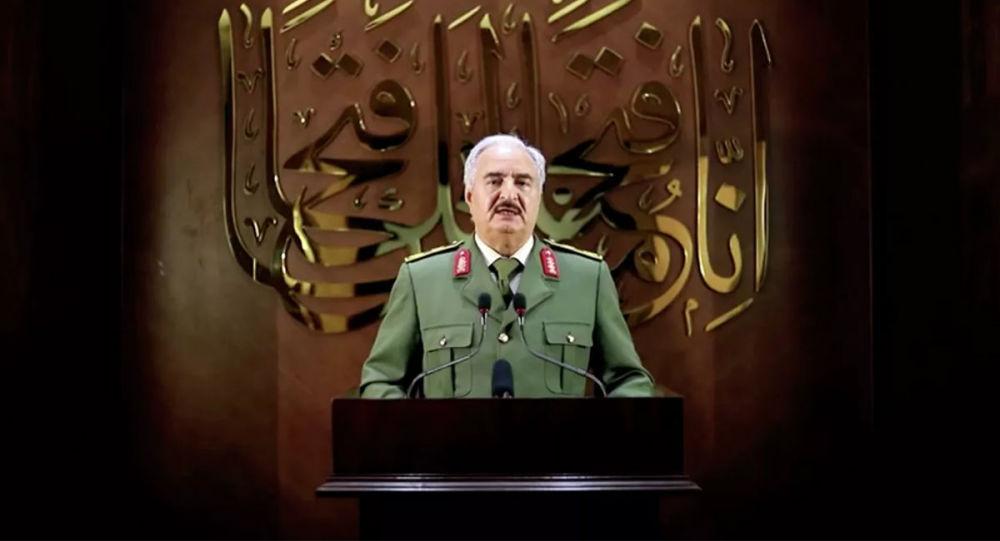 領導利比亞國民軍的哈夫塔爾