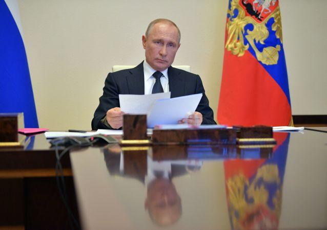普京致電馬克龍稱俄法需要相互協作