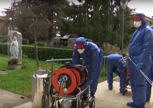 俄羅斯軍醫在意大利
