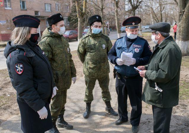 莫斯科州實施禁令以來已發現超過1.3萬起違反自我隔離的行為