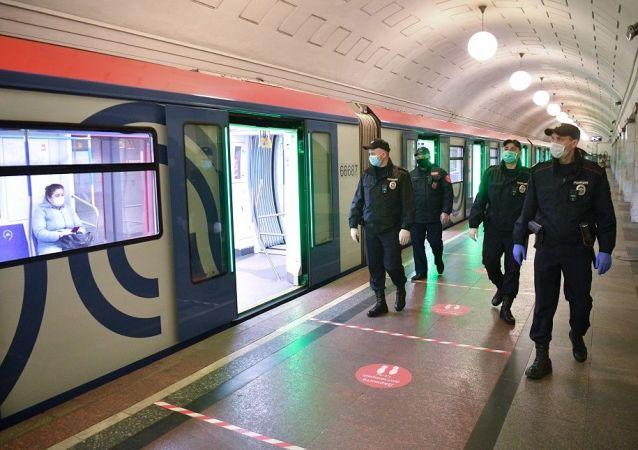 莫斯科地鐵警方