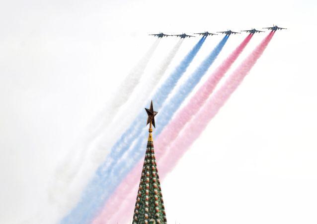 據克宮消息,俄美總統相互祝賀反法西斯戰爭勝利75週年