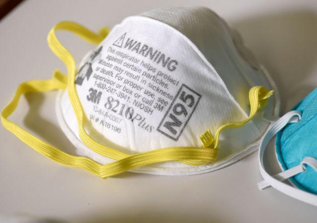 美媒:美國自中國進口的一批N95口罩系假冒產品