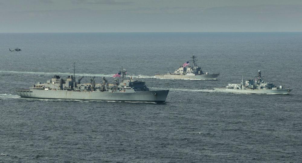 北約艦艇在巴倫支海的行動