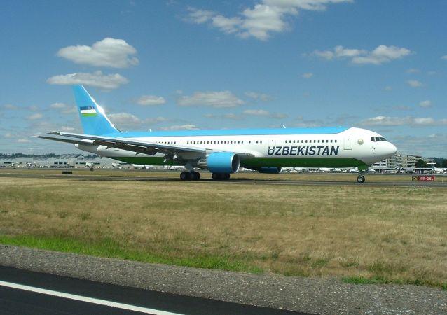 烏茲別克斯坦航空公司的波音-767-300ER