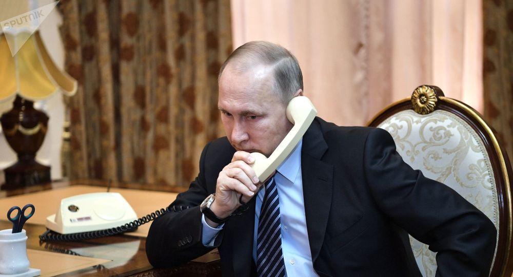 普京與魯哈尼討論敘利亞問題、對伊武器禁運與新冠疫情