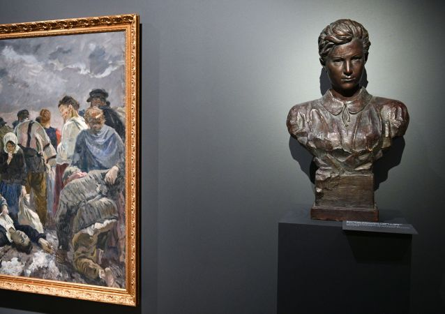 博物館在莫斯科州卓婭•科斯莫傑米揚斯卡婭處決現場開館