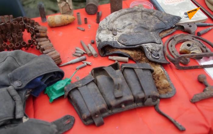 西伯利亞男子在村裡開設歷史博物館