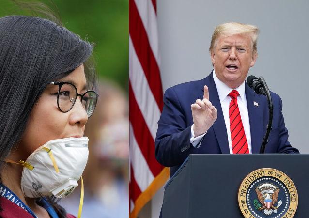 「去問中國」:特朗普在與記者發生口角後中斷記者招待會
